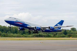 Silk Way West Boeing 747-8F
