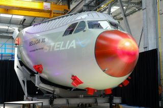 Airbus A330-700 Beluga XL Cockpitsektion