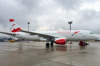 Austrian A320 OE-LBY