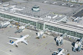 Flughafen München Satellit am Terminal 2