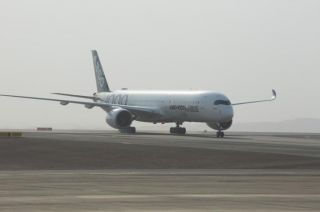 Airbus A350-1000 in Al Ain