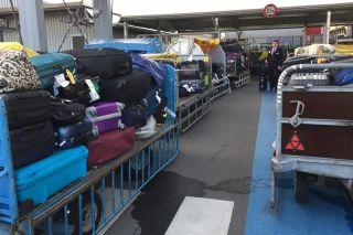 Koffer-Chaos in Berlin-Tegel