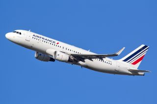 Air France Airbus A320 mit Sharklets
