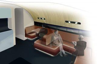 Die A380 von Qantas erhalten eine neugestaltete Lounge im Bug des Oberdecks für Passagiere der First und Business Class