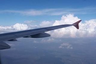 Ex-AB Flyniki A321 en route