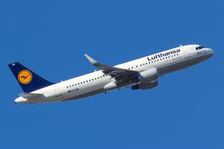 Lufthansa Airbus A320 mit Sharklets