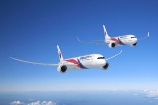 Malaysia Airlines Boeing 787-9 und 737 MAX 8