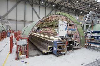 Rumpfsektion für die erste A330-800