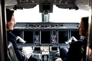 Start-Up im Austrian Cockpit