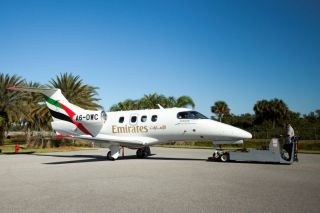Emirates Embraer Phenom-100EV