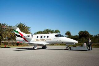 Emirates Embraer Phenom-100EV