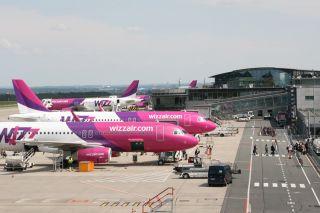WizzAir am Flughafen Dortmund