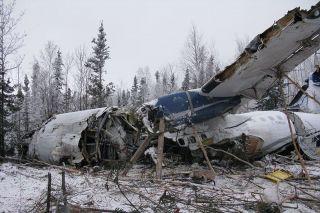 Verunfallte West Wind ATR 42-300