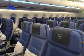 Lufthansa Airbus A350-900 Economy Class
