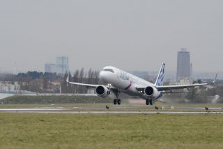 Airbus A321LR startet in Le Bourget