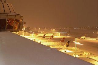 Wintereinbruch in Genf