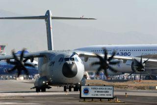 Airbus A400M und A380