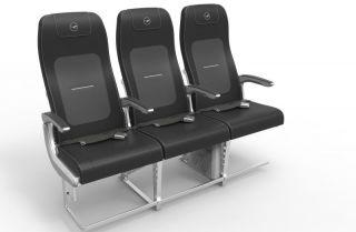 Lufthansa A320 Geven-Sitz