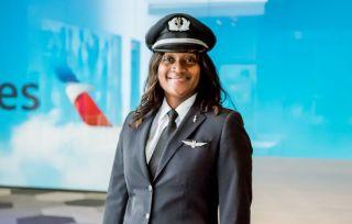 American Airlines Pilotin