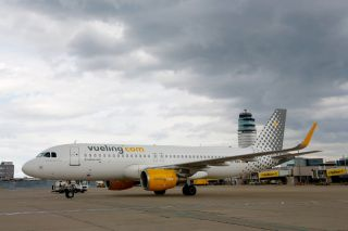 Vueling Airbus A320 mit Sharklets