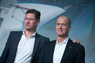 Harald Wilhelm und Tom Enders