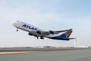 Atlas Air Cargo Boeing 747-400F