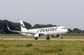 Finnair Airbus A321 mit Sharklets