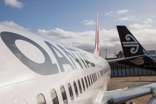 Qantas und Air New Zealand