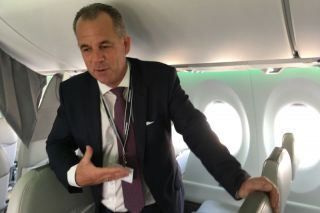 Air Baltic CEO Martin Gauss
