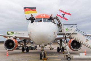 Easyjet in Berlin-Tegel