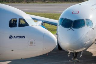 Airbus A320 und CSeries