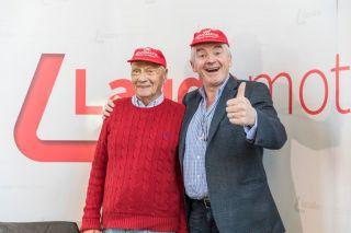 Niki Lauda und Michael O`Leary