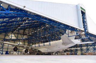 Hi Fly Airbus A380 wird umlackiert