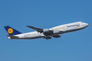 Lufthansa Boeing 747-8 Siegerflieger