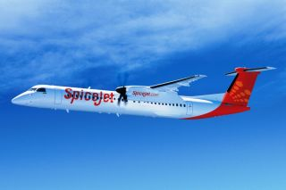 Spicejet Q400NG