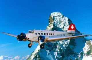 Junkers JU-52 (Reg. HB-HOT)