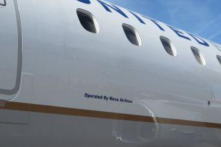 Mesa Air fliegt für United und American