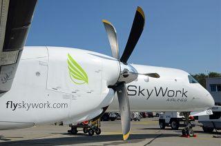 Saab 2000 der Skywork Airlines