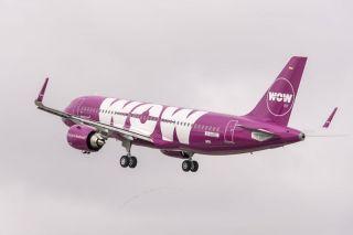 WOW air Airbus A320neo