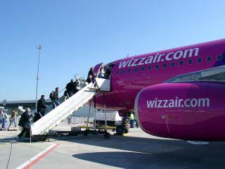 Wizzair am Flughafen Hahn