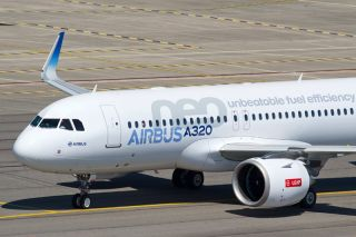A320neo mit CFM International LEAP-1A Triebwerken