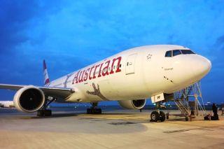 Austrian Boeing 777 OE-LPF