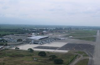 Der Flughafen Bonilla Aragón in Cali/Kolumbien