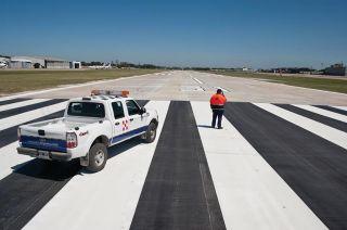 Piste des Flughafens Aeroparque Jorge Newbery