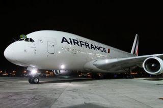 Air France Airbus A380 in Rio