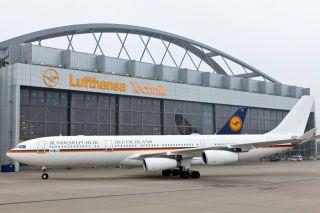 A340-300 Konrad Adenauer