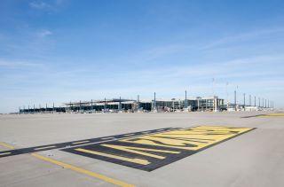 Flughafenbaustelle Berlin Brandenburg