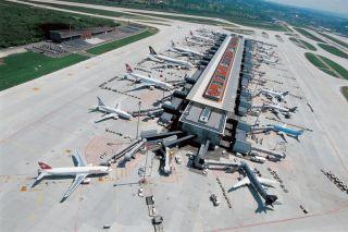 Dock E, Flughafen Zürich