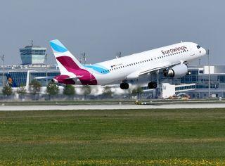 Eurowings am Flughafen München