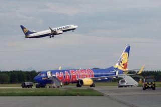 TUIfly und Ryanair am Allgäu Airport